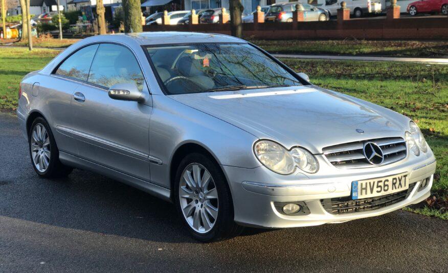 Mercedes-Benz CLK 2006 (56 reg)  3.0 CLK320 CDI Elegance 7G-Tronic 2dr