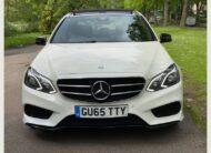 Mercedes-Benz E Class 2015 (65 reg) 3.0 E350 CDI BlueTEC AMG Night Edition (Premium Plus) 9G-Tronic Plus 4dr